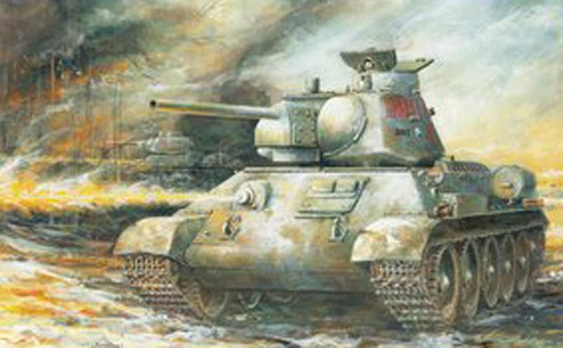 Модель Танк огнеметный ОТ-34