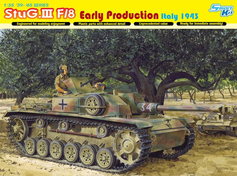 Сборная модель Самоходка StuG.III Ausf.F/8 ранняя