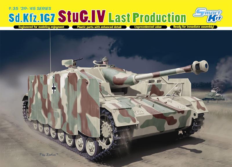 Сборная модель Танк StuG.IV поздний