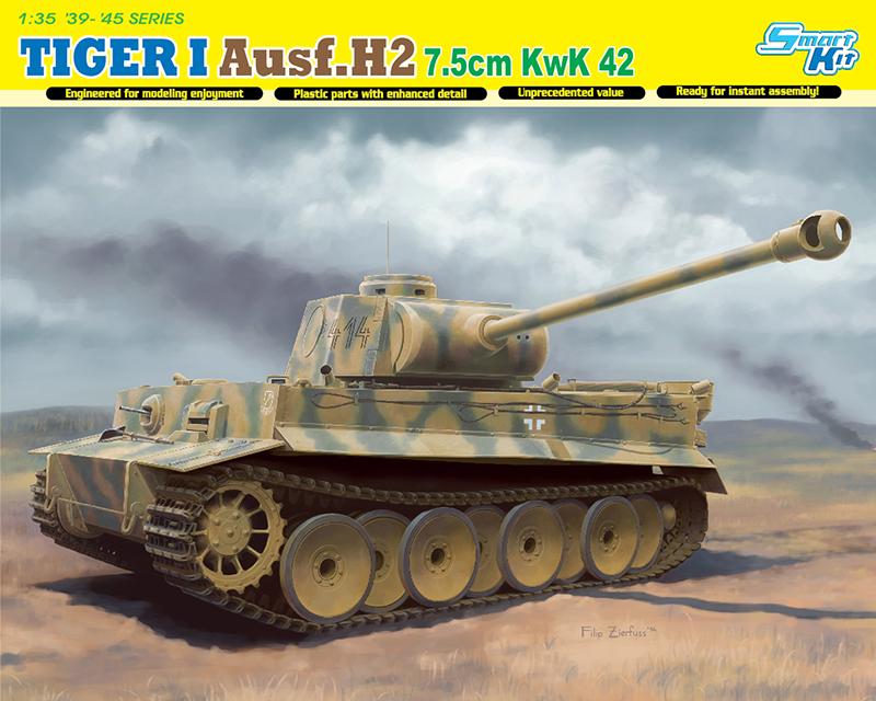 Сборная модель 1/35 ТАНК TIGER I Ausf.H2