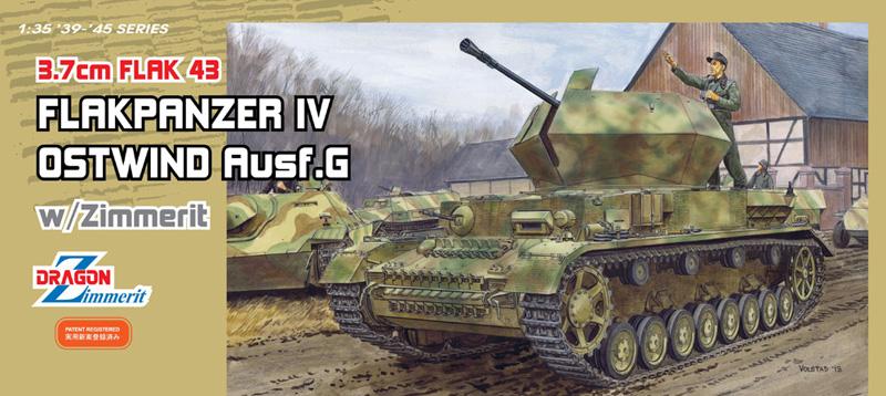 Сборная модель Самоходка 3,7см Flak43 Flakpanzer IV
