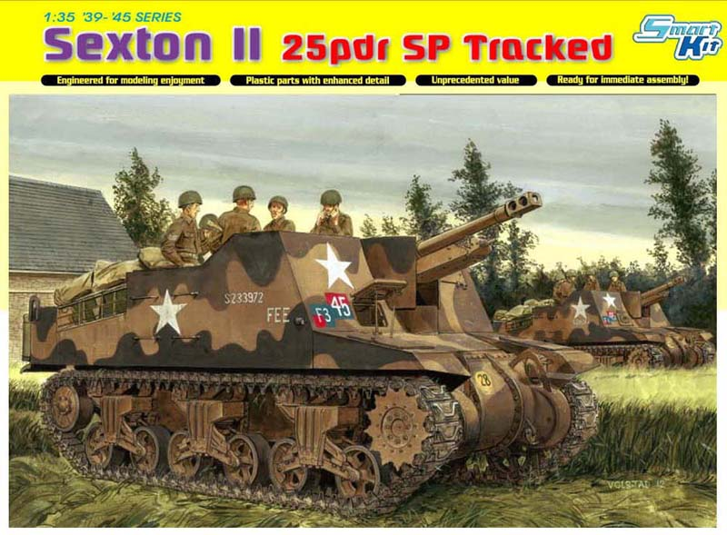 Модель Самоходка SEXTON II 25 pdr