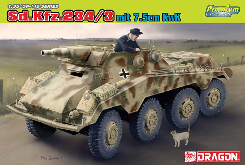 Сборная модель Бронемашина Sd.Kfe.234/3
