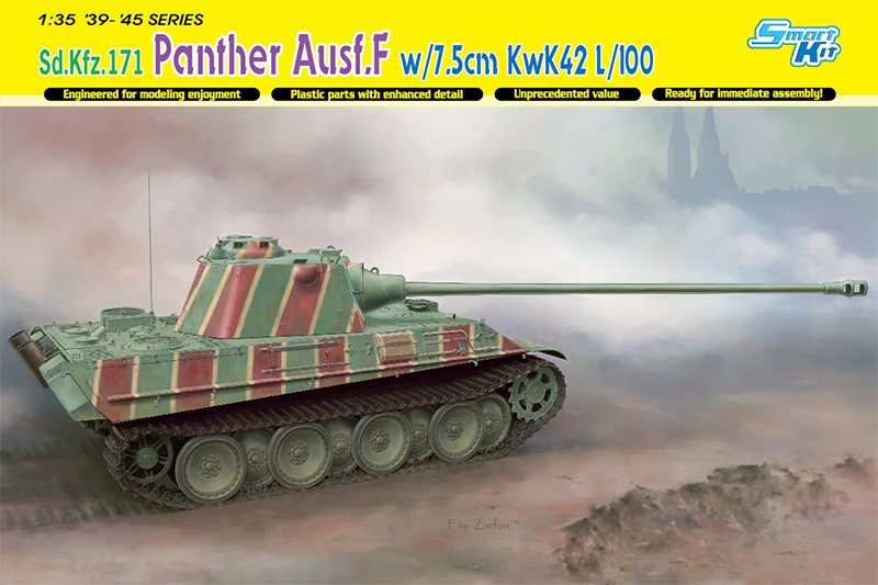 Сборная модель ТАНК PANTHER F w/7.5cm KwK 42 L/100