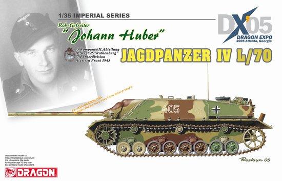 Модель Танк Jagdpanzer IV L/70