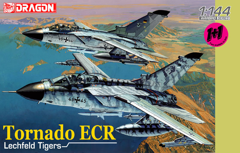 Сборная модель Самолет Tornado ECR Lechfeld Tigers