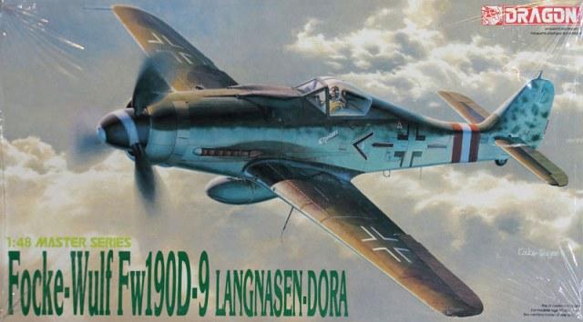 Сборная модель Самолет Focke-Wulf Fw190D-9