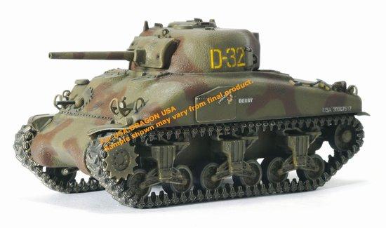 Модель Танк M4A1 Normandy 1944
