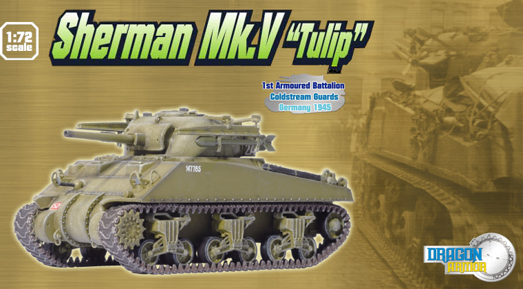 Модель Танк Sherman Mk.V 'Tulip', 1st Armored Battalion Coldstream