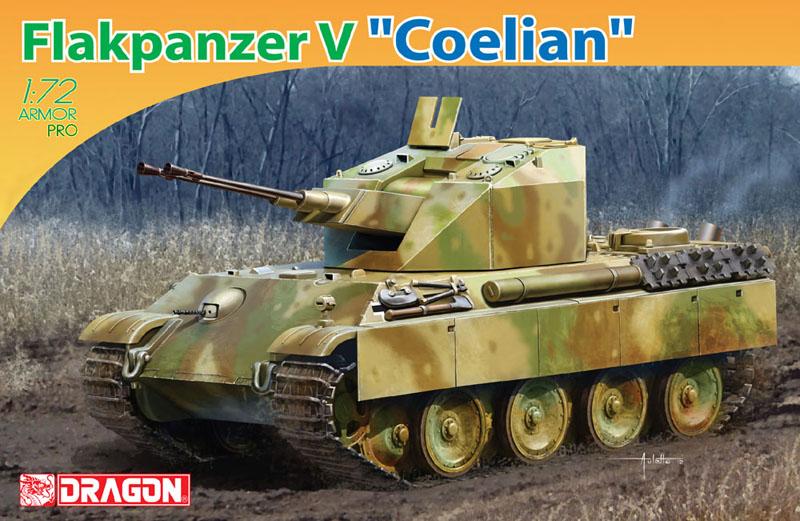 Сборная модель Самоходка Flakpanzer V