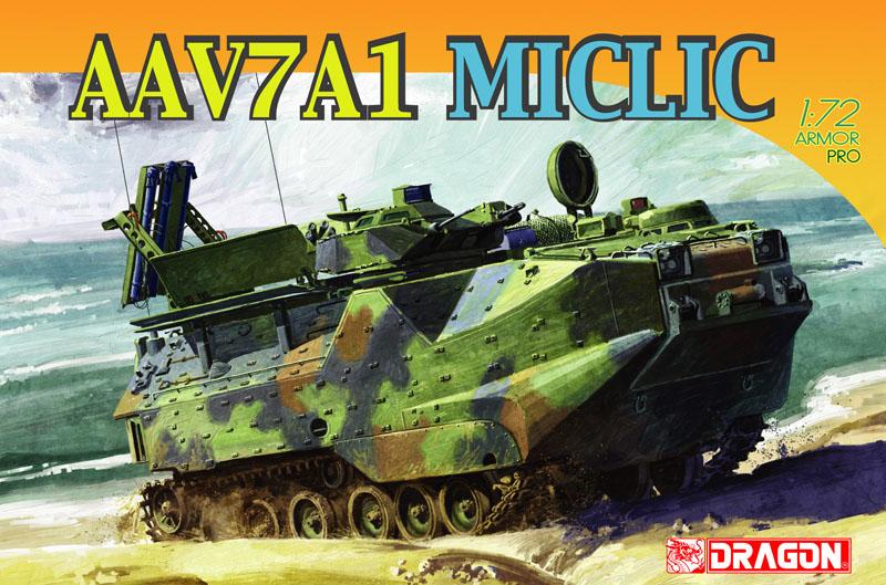 Модель Бронетранспортер AAV7A1 MICLIC