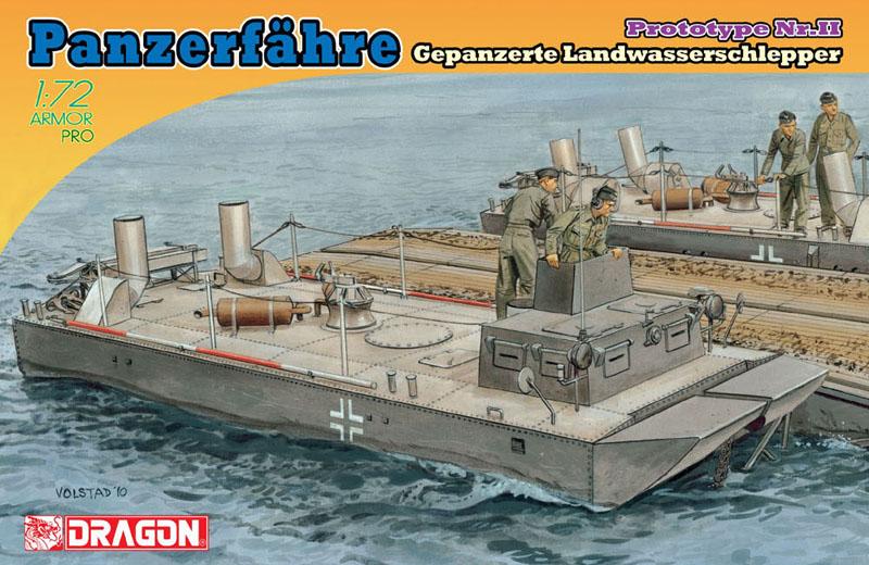 Сборная модель Катер Panzerfahre LWS