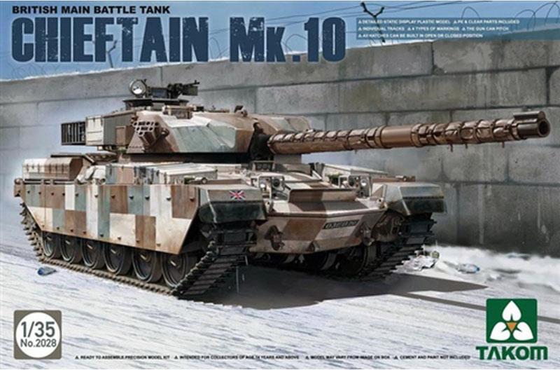 Модель БРИТАНСКИЙ ОСНОВНОЙ ТАНК CHIEFTAIN MK.10