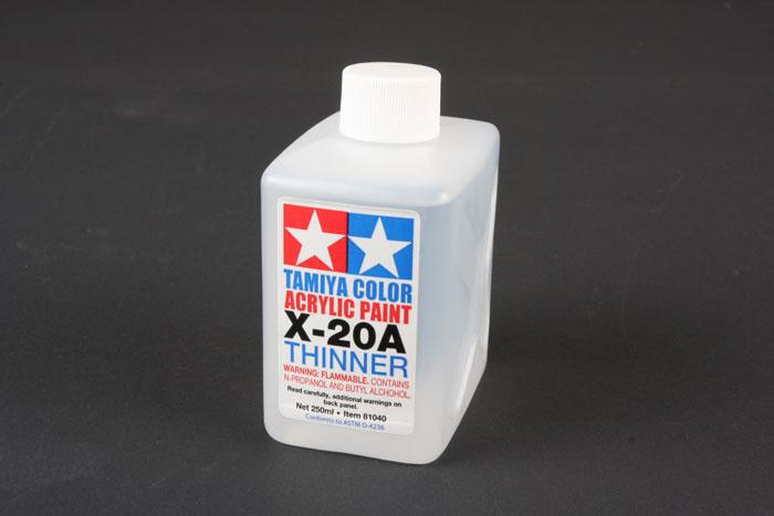 Растворитель акриловой краски X-20A 250ml