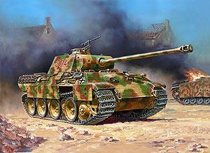 Сборная модель Немецкий танк Т-V Пантера