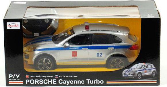СУПЕРЦЕНА! Porsche Cayenne Turbo (Полиция) Машина р/у 1:14.