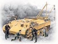 Bergepanther с германским танковым экипажем