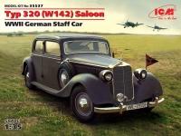 Сборная модель Typ 320 (W142) седан, Германский легковой автомобиль ІІ МВ
