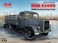 Сборная модель KHD S3000, Германский армейский грузовой автомобиль ІІ МВ