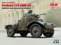 Сборная модель Panhard 178 AMD-35, Французский бронеавтомобиль ІІ МВ