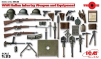 Сборная модель Оружие и снаряжение пехоты Италии І МВ