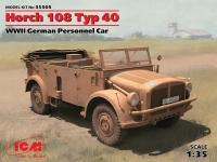 Сборная модель Horch 108 Typ 40, Германский армейский автомобиль II MB