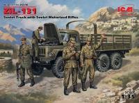 ЗиЛ-131, Советский армейский автомобиль с советской мотопехо