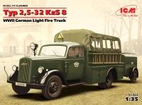 Модель Typ 2,5-32 KzS 8, Германский легкий пожарный автомобиль ІІ М