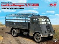 Сборная модель Lastkraftwagen 3,5 t AHN, Грузовой автомобиль германской арм