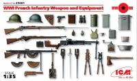 Модель Оружие и снаряжение пехоты Франции І МВ