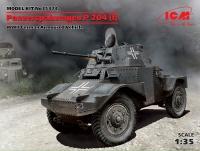 Сборная модель Panzerspahwagen P 204 (f), Германский бронеавтомобиль ІІ МВ