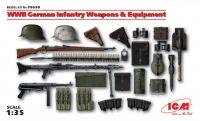 Сборная модель Оружие и снаряжение Германской пехоты ІІ МВ