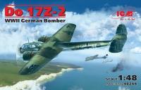 Сборная модель Do 17Z-2, Германский бомбардировщик ІІ МВ