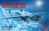 Модель Do 17Z-10, Германский ночной истребитель ІІ МВ