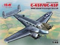 C-45F/UC-45F, Пассажирский самолет ВВС США ІІ МВ