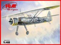 Hs 126B-1 Германский самолет-разведчик II МВ