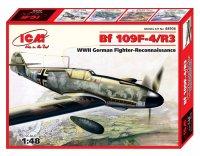 Модель Bf109F-4R6