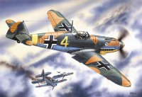Сборная модель Bf 109F-4