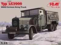 Сборная модель Typ LG3000, Германский армейский грузовик ІІ МВ