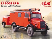 Сборная модель L1500S LF 8, Германский легкий пожарный автомобиль