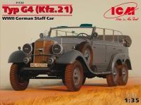 Модель Typ G4 (Kfz.21), Германский штабной автомобиль ІІ МВ