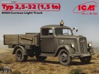 Модель Typ 2,5-32 (1,5), Германский легкий грузовик ІІ МВ