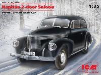 Модель Kapit?n Седан двухдверный, Германский автомобиль ІІ МВ