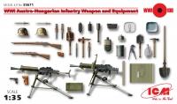 Сборная модель Вооружение и снаряжение пехоты Австро-Венгрии І МВ