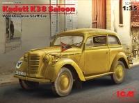 Сборная модель Kadett K38 Седан, Германский легковой автомобиль ІІ МВ