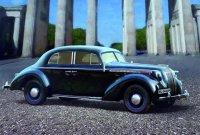 Сборная модель Admiral Седан, Германский легковой автомобиль II МВ