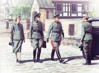 Сборная модель Германский штабной персонал II МВ