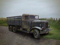 Модель Krupp L3H163, Германский армейский грузовой автомобиль ІІМВ