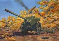 Сборная модель 76,2 мм Ф-22, Советская дивизионная пушка 2МВ