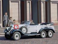 Сборная модель G4 (производства 1939 г.), Германский легковой автомобиль с